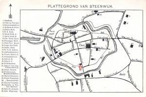 Kaart plattegrond van steenwijk familie brandsma for Gerben pijl